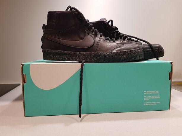 Porządne buty zimowe Nike Blazer Zoom 38,5  - Skóra, praktycznie nowe.