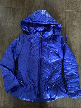 Куртка для девочки 128 рост
