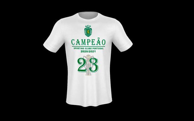 T-shirt Sporting Campeão 2020/21