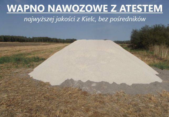 Wapno nawozowe z Kielc,  dofinansowanie,  faktura VAT