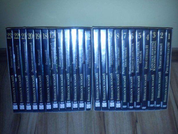 "Kolekcja Filmów na DVD "" SHERLOCK HOLMES """