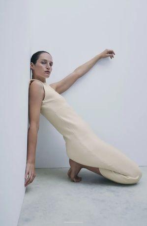 Vestido Midi Zara Novo