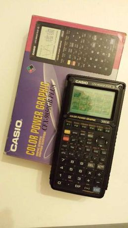 Calculadora gráfica _ Casio CFX - 9850G Color Power Graphic