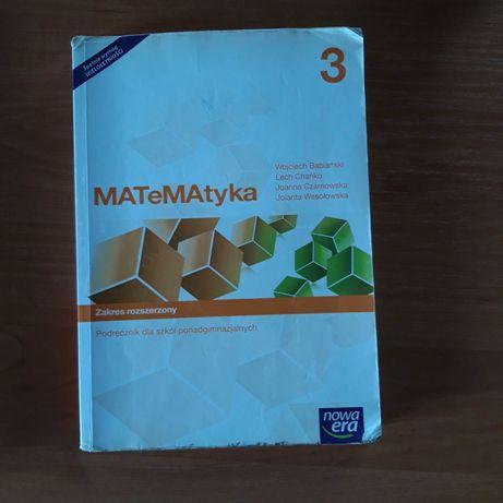 Podręcznik do matematyki 3 dla szkół ponadgimnazjalnych