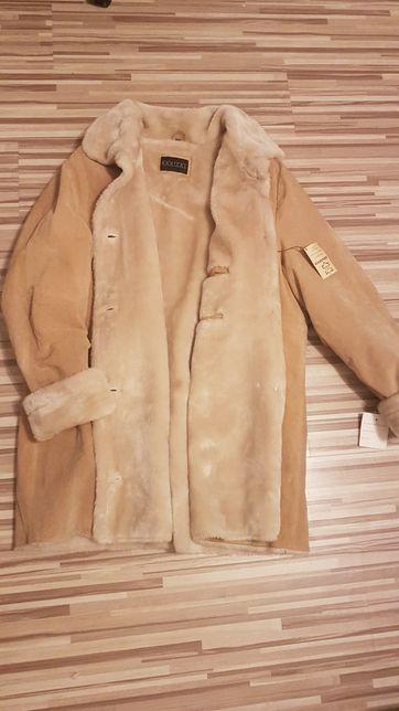 Barisal dłuższa kurtka ze skóry r.50