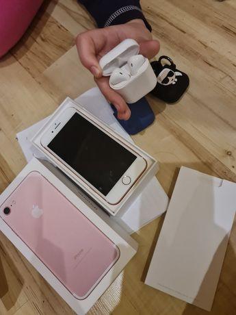 Iphone 7 Rose TYLKO TEL. słuchawki sprzedane.