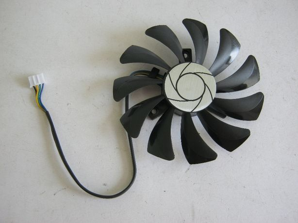 Вентилятор (кулер) для видеокарт MSI 85мм HA9010H12F-Z, 4-пин