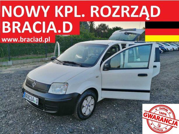 Fiat Panda 1,1 Benz 2008r Bardzo Mały Przebieg z Niemiec 100% OPŁAT