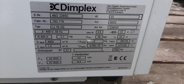 Pompa ciepła powietrze woda niemieckiej firmy dimplex 15,5 kW