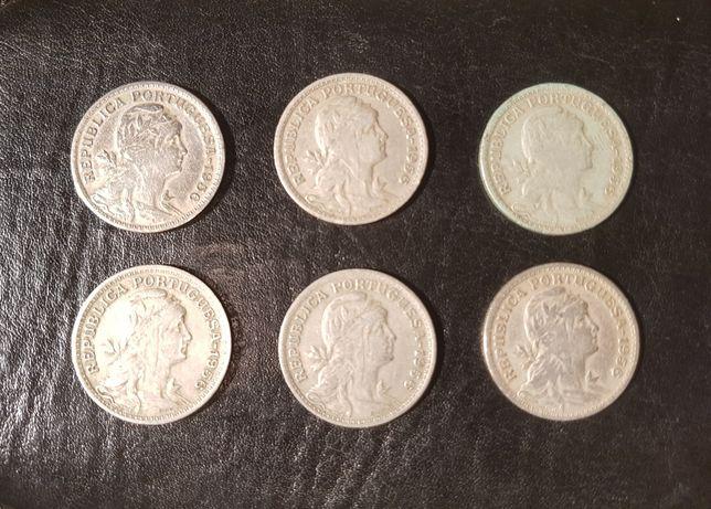 Moedas 50 Centavos 1956