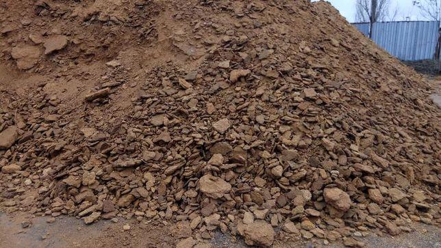 Жерства подсыбка строительный мусор для дороги с КАРЬЕРА НАПРЯМУЮ