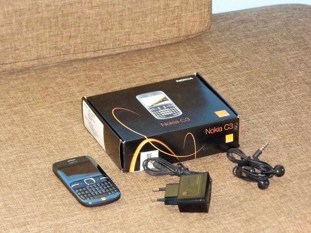 Nokia C3-00 simlock Orange. Bateria aktywna do 6 dni