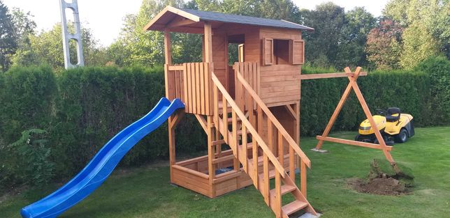 Domek dla dzieci domki drewniane place zabaw