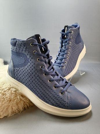 Ботинки женские Кроссовки ecco soft 3 221513 р. 38