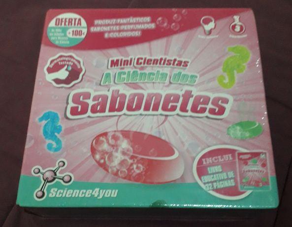 Science 4you- NOVO! Ciência dos Sabonetes - Mini Cientistas