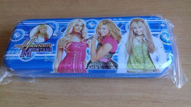 Piórnik metalowy Hannah Montana - nowy