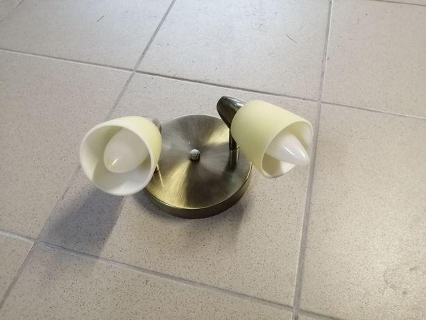 Lampa sufitowa złota