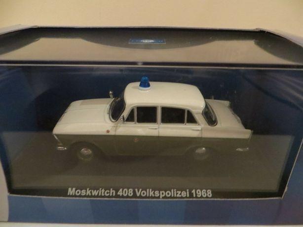 Модель 1968 Москвич 408 / Moskwitch 408 Volkspolizei - IST/Cars&Co