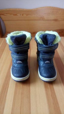 Buty chłopięce śniegowce rozmiar 24