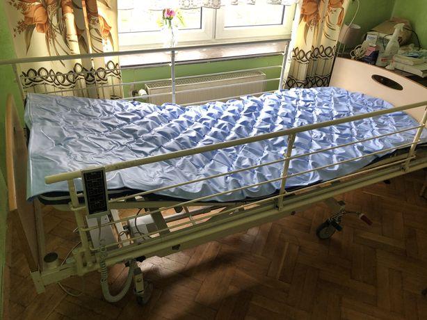 Lóżko rehabilitacyjne + Materac/ Materac odleżynowy