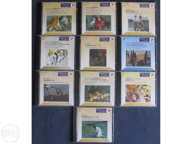 10 Cds sony classical