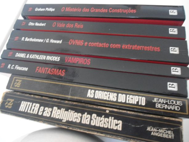 Colecção Enigmas de Todos os Tempos (Bertrand Editora)