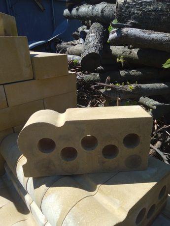 Продам кирпич фасонный для камина,садовой печи,ландшафта