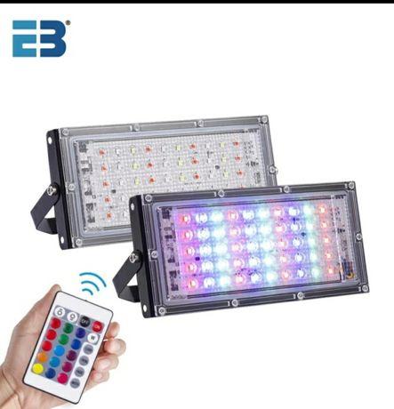 Projector led rgb 50w -novo