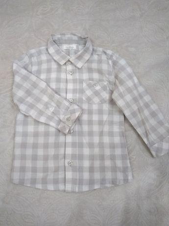 Дитяча сорочка на хлопчика на рік