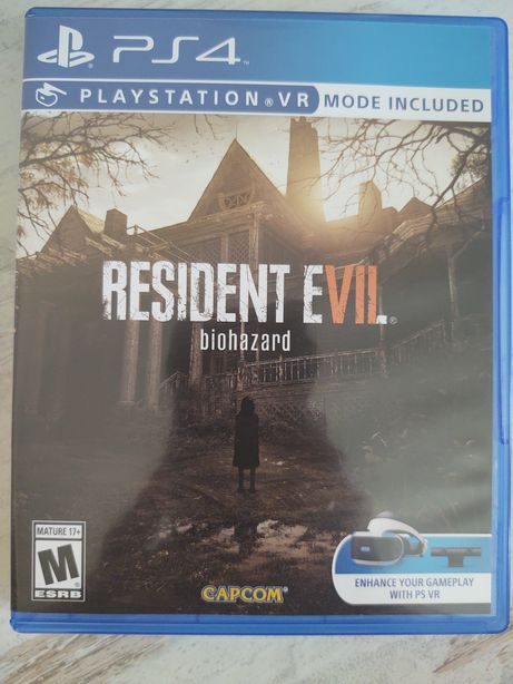 Диск Resident Evil 7 Biohazard PS4 PS5 (Playstation 4)