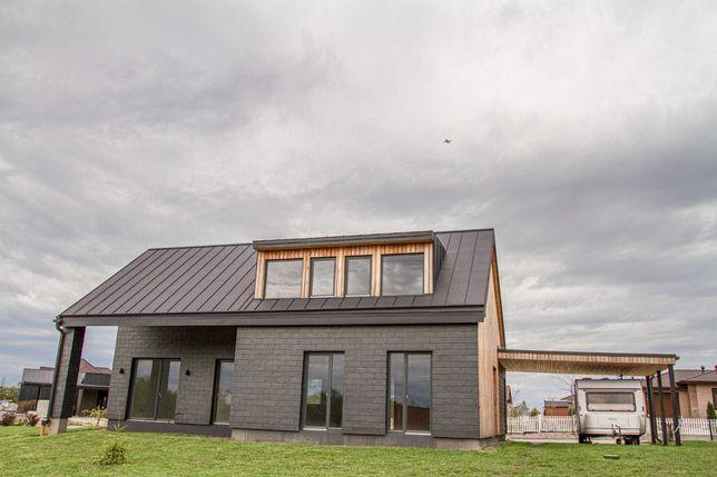 Скандинавский дом в КГ Mulberry Homes, 180м - 8 соток, под чистовую!