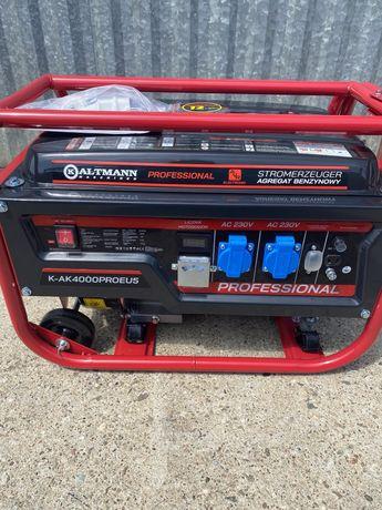Agregat prądotwórczy NOWY dowózGratis, system AVR, Kaltmann 3100W Nowy