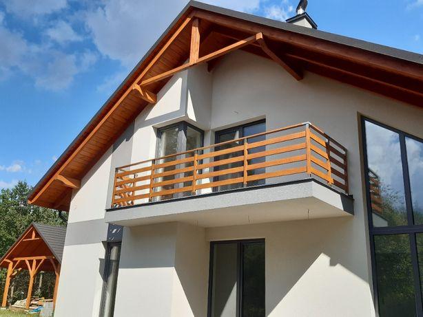 Balustrada balkonowa Classic aluminium taras balkon barierka schody