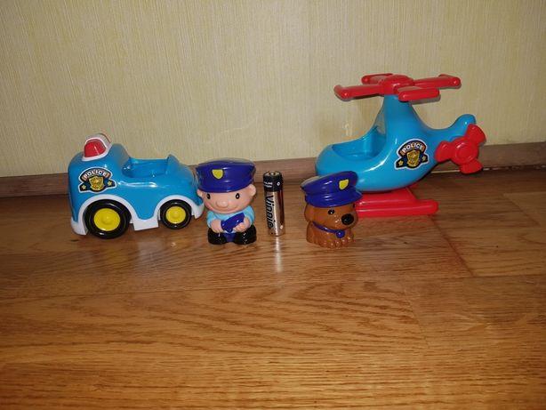 Набор полиции\ полицейская машинка