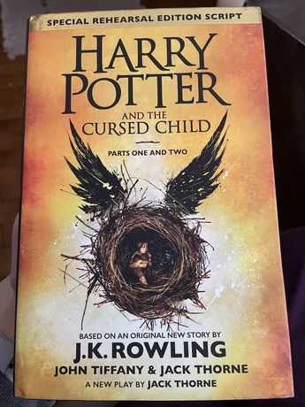 Harry Potter and cursed child angielski english