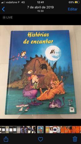 """Livro """"Histórias de Encantar """" - Novo"""