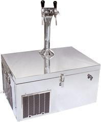 Пивной охладитель Катюша 35 с колонной на 2 сорта