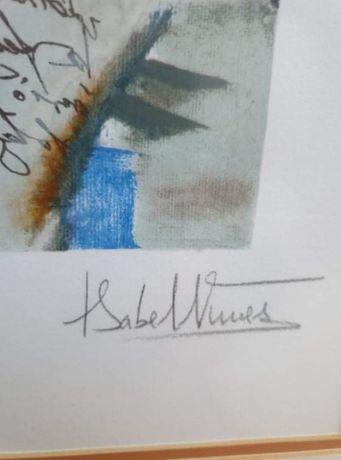 SERIGRAFIA Isabel Nunes vendida 2003 NOVO PREÇO