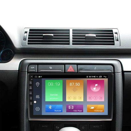 Audi A4 Radio Android GPS Bluetooth Ecra 2 din wifi carplay