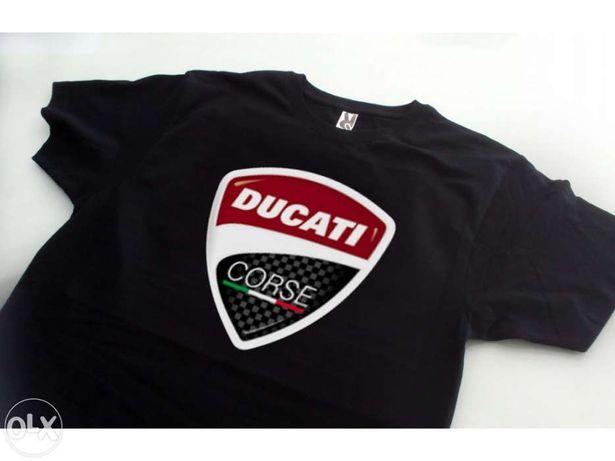 Tshirt Ducati Course carbon