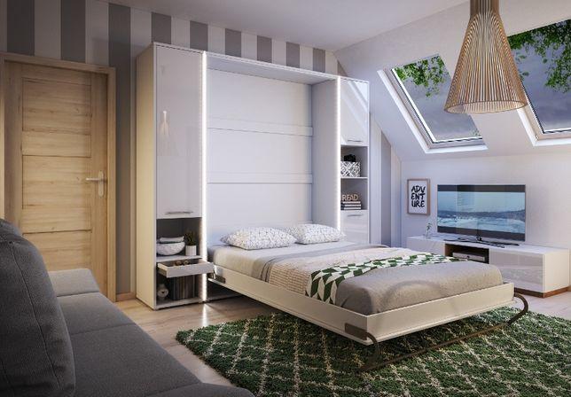 Łóżka zamykane na ścianę łóżko chowane w szafie Półkotapczan Nowość