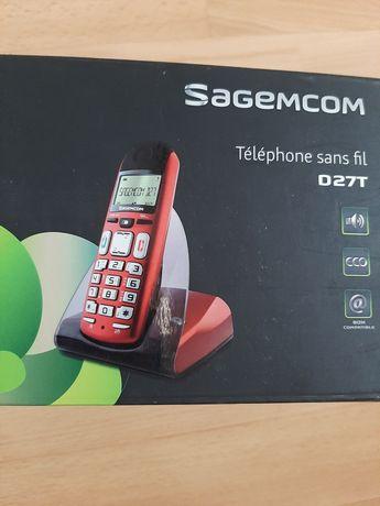 Telefon stacjonarny Sagem