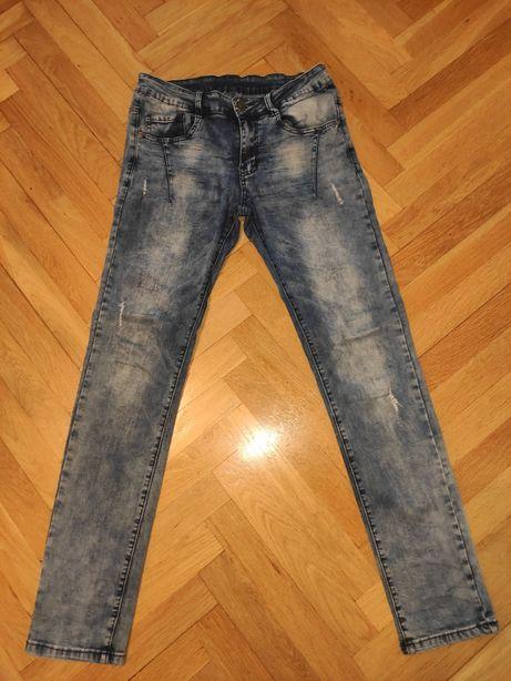 Spodnie jeansy Reporter Young dla chłopca r. 164