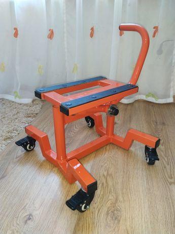 Подъемник подставка с колесиками для кросс эндуро мотоцикла