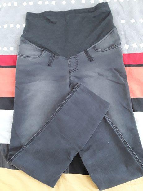 Spodnie ciążowe S firmy Branco z regulacją na brzuchu na niską osobę