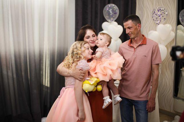 Платье на годик, нежность и неповторимость Family Look сестрички