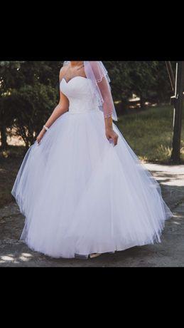 Sukienka ślubna 38/40 plus dużo gratisów