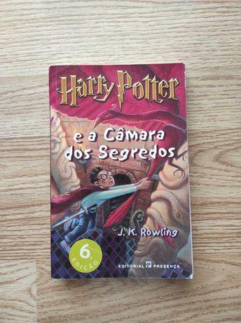 Livro Harry Potter e a Câmara dos Segredos