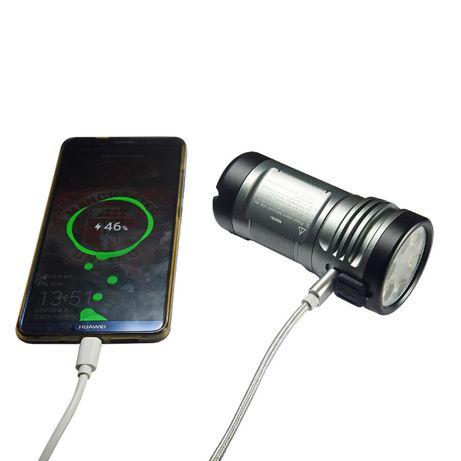 latarka Manker MK36 Olight X7R nitecore 12000lumenów