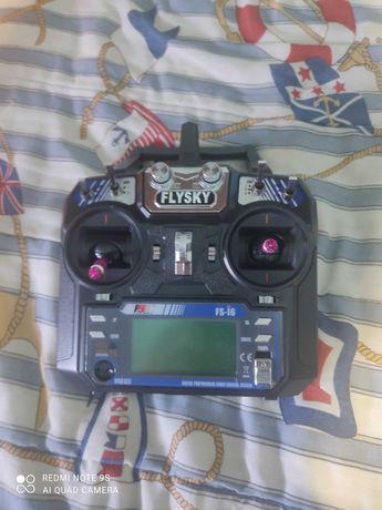Rádio flysky i6 novo
